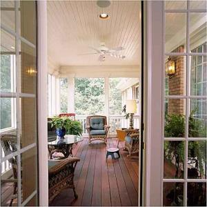 Give Your Screened In Porch Or Deck A Makeover First